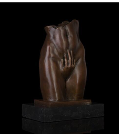 Sculpture bronze de chambre à coucher | Corps artisanat, art cuivre beauté mme sculpture féminin, club d'étude, décoration artisanale douce
