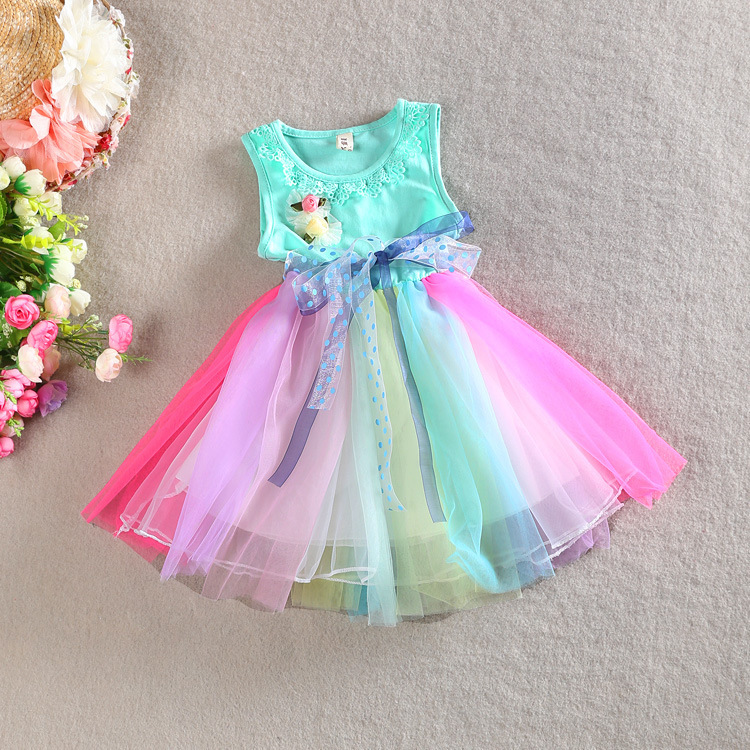 Colorful dresses toddler