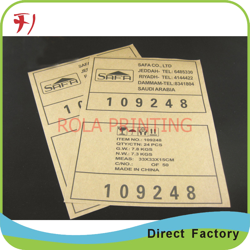 Customized oem high quality custom round logo stickerscustom sticker printing