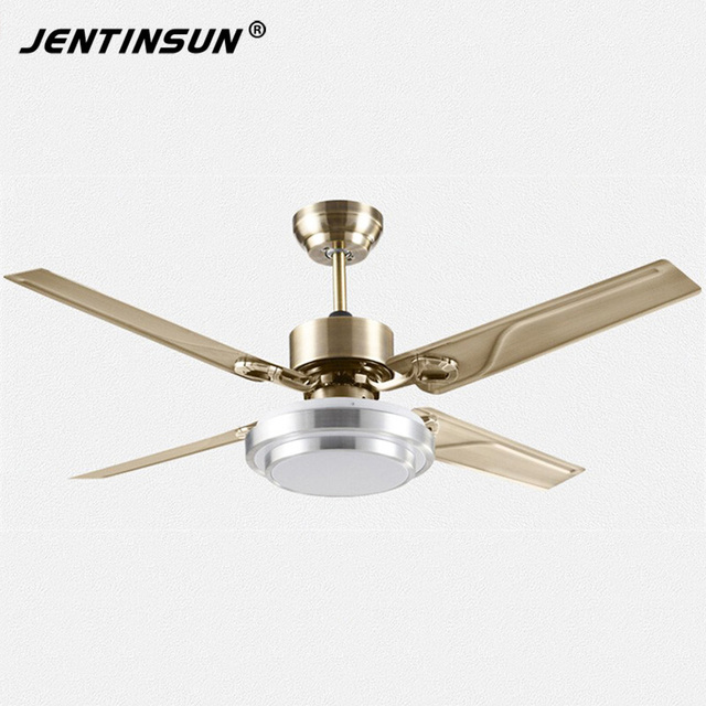 Free shipping new fashion bronze color modern quiet ceiling fans free shipping new fashion bronze color modern quiet ceiling fans with lights diameter 120cm lamp 18w aloadofball Choice Image