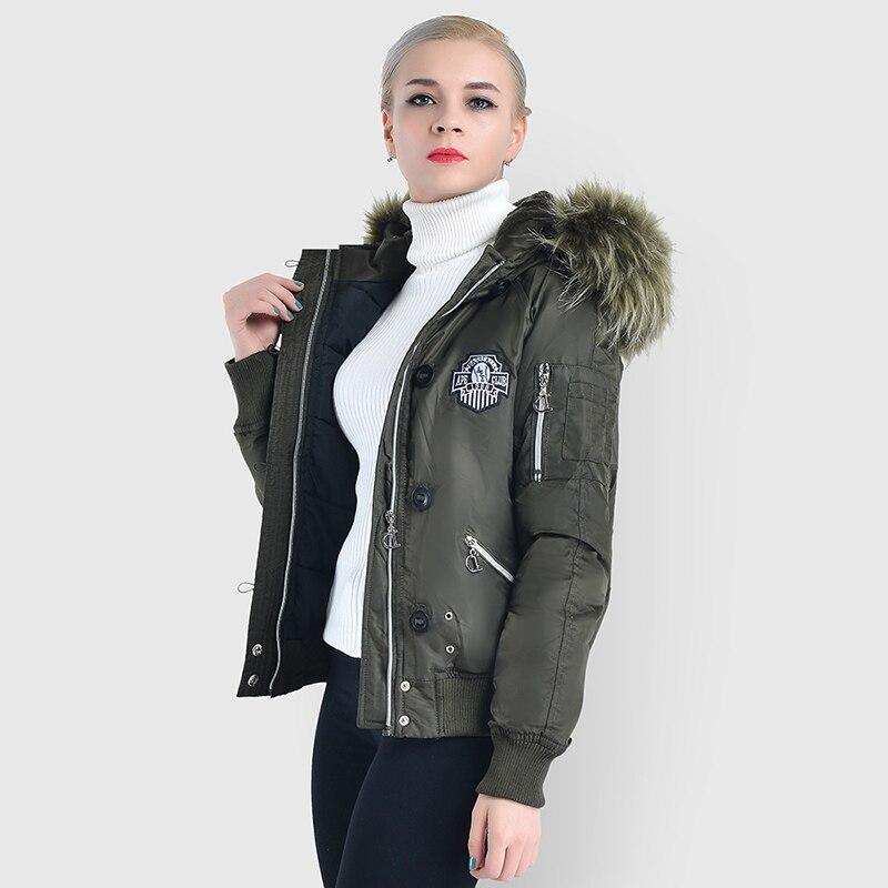 Hiver Chaud Casual Grande 2018 Parka Épais Femmes Manteau Taille Nouvelle Green Veste Haute Vestes Qualité Mode Army Court Printemps x6xOqXBW