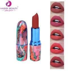 24pcs Matte Lipstick Red Velvet 12 Colors Lips Makeup Set Colorful Tube Long-lasting Batom Mate Cosmetics Kit Habibi beauty A449