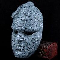 Stone Ghost Resin Cosplay Mask Juvenile Comics JOJO Bizarre Amazing Adventure Gargoyle Theme Halloween Masquerade Masks Props