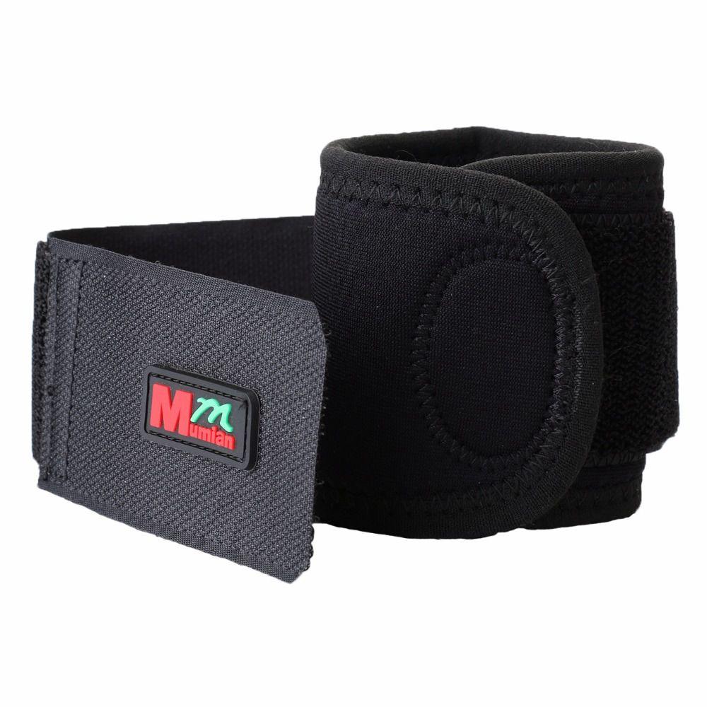 New Sale 1 pcs Mumian C01 Adjustable Elastic Stretchy Wrist Tennis Sport Breathable Fitness Wristband Wrist Wraps Joint Brace