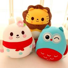 Lion Elephant Insect Cushion Pillow Foam Particles Doll Soft Plush Toys Creative Gifts Girl One Piece