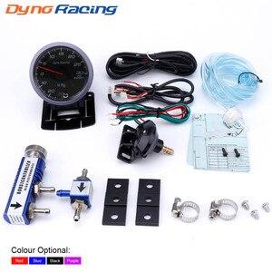 Potenciador Turbo de coche Dynoracing de 60 MM, medidor de 30 psi + controlador Turbo ajustable, Kit de 1-30 psi, medidor de coche en cabina