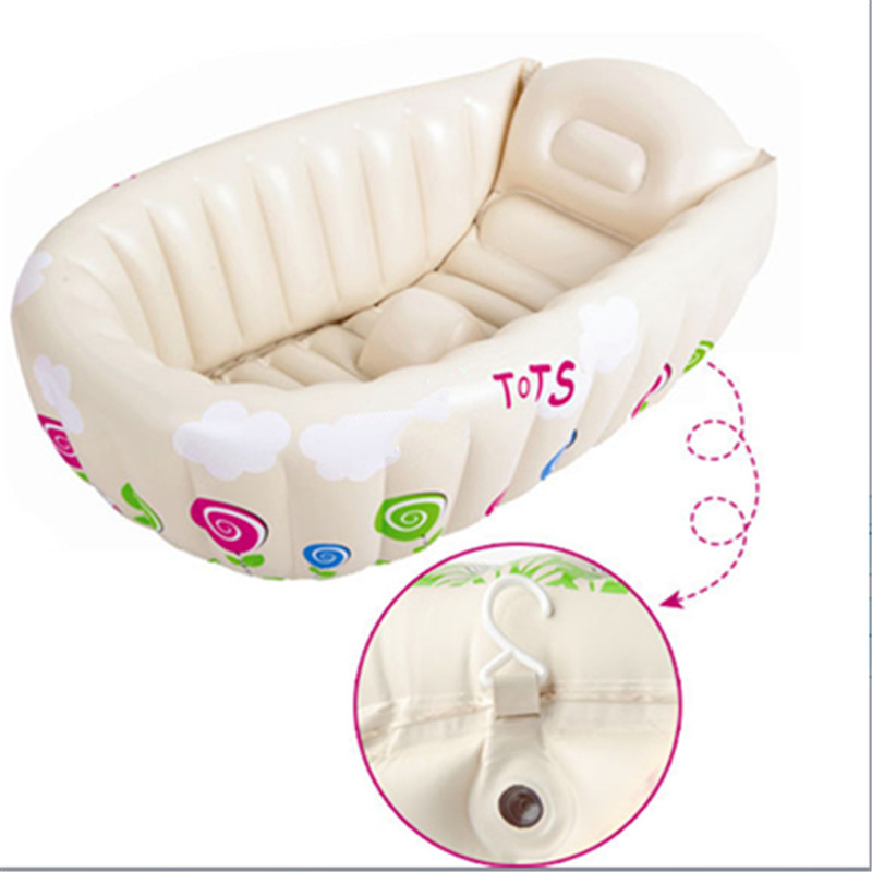 New 90*60*30CM 0-3 Years Old Friendly PVC Inflatable Baby Bathtub ...