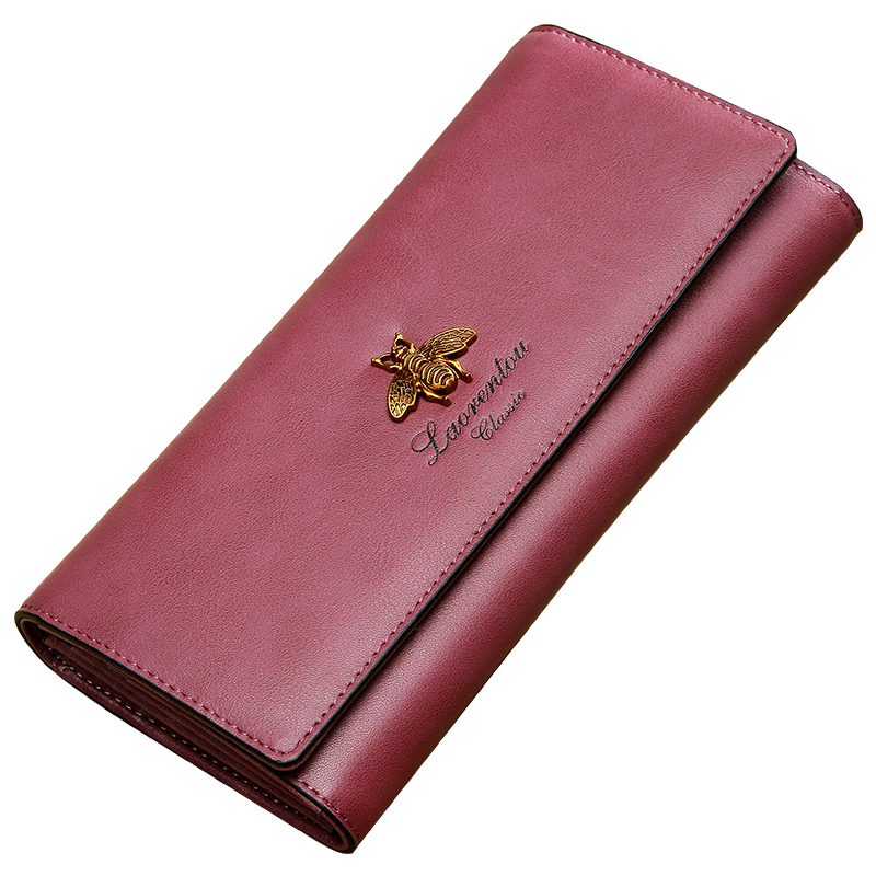 New Female Leather Wallet Long Multi Card Function All match Hand Bag Fashion Purses Lady Clutch Holder Girls Purse Coin Purse