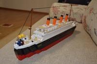 1021Pcs Titanic Ship Building Blocks Sets Toys Boat Model Kids Gifts Boys Birthday Gift Educational Toys