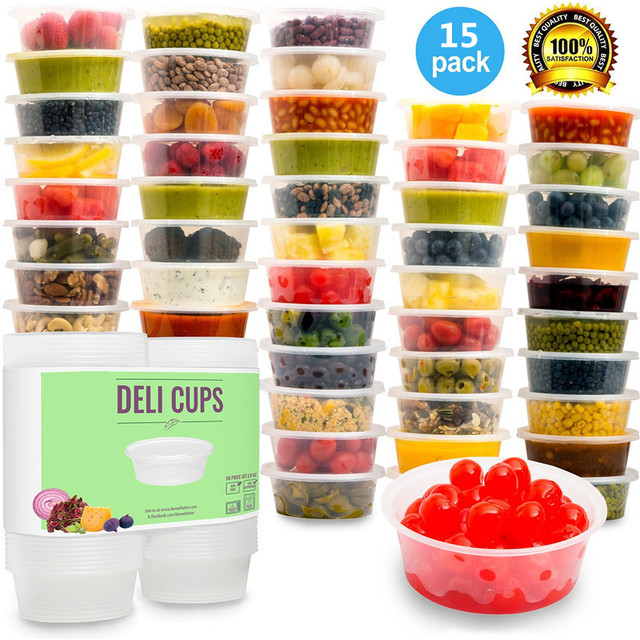 Plastic Food Storage Containers with lidsBabyPortion ControlKids