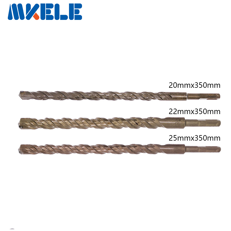 Hot Sale bits 3Pcs/Set Twist Drill Bit For Metal 40CR chrome-vanadium steel Drilling Woodworking Tool 20/22/25mm High Quality best price mgehr1212 2 slot cutter external grooving tool holder turning tool no insert hot sale brand new