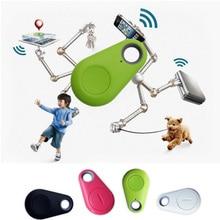 Новый Анти Потерял Сигнализация Датчик Смарт-Тегов Беспроводная Связь Bluetooth 4.0 Трекер Ребенок Бумажник Ключ Брелок Finder Локатор GPS