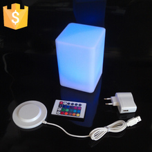 10*15CM Magic Dice LED luminous square night light glowing decorative led cube table for lamp 4pcs/lot