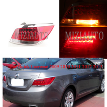 MIZIAUTO Tail Light Assembly LED for Buick Lacrosse 2009 2010 2011 2012 2013 taillight tail lamp brake light Rear Brake Light for chery a3 sedan reversing light rear tail lamp assembly brake light lamp tail light assembly