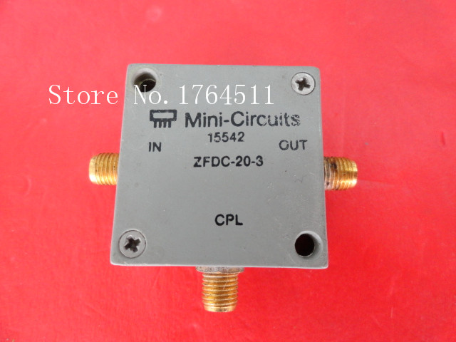 [BELLA] Mini ZFDC-20-3 0.2-250MHz Coup:20dB SMA Supply Coupler