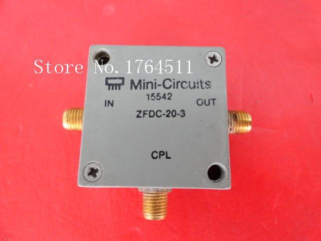 [BELLA] Mini ZFDC-20-3 0.2-250MHz Coup:20dB SMA Supply Coupler