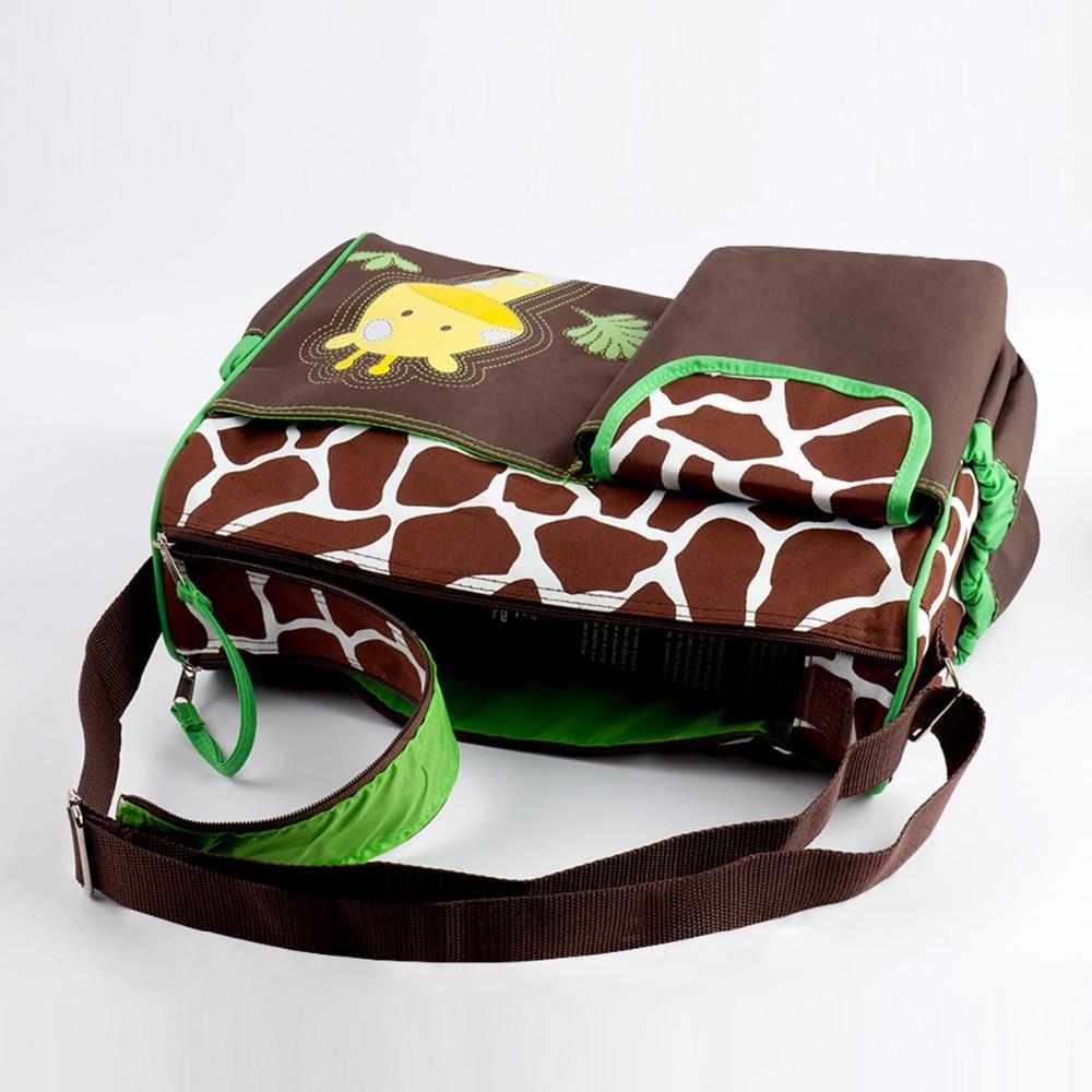 2016 Summer Style Animal Baby Diaper Bag Mummy Nappy Zebra Or Giraffe Babyboom Multifunctional Fashion Infanticipate