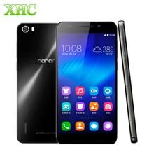 Original huawei honor 6/6 plus teléfono móvil 4g lte wcdma kirin 920 octa core 3 GB Ram 16 GB/32 GB Rom Android 3100 mAh Teléfono Celular