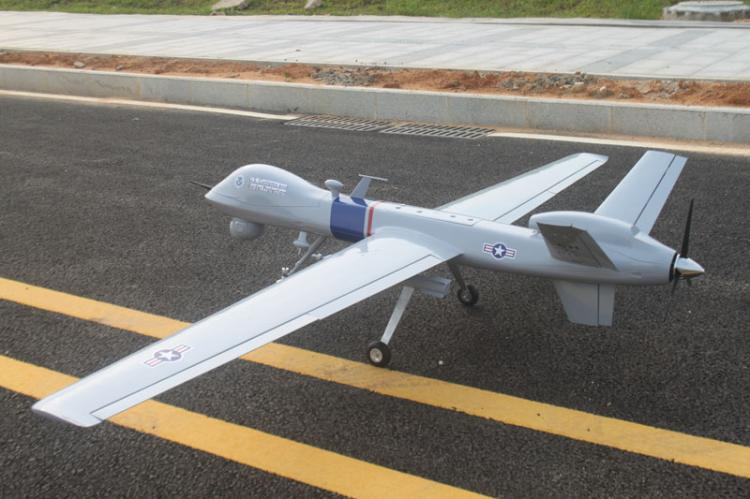 MQ-9 REAPER UAV Laser Cut Short Kit /& Plans 98 WS Electric or Nitro Power