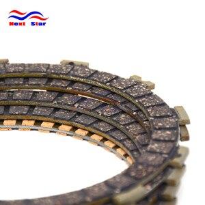 5 шт. мотоциклетные детали двигателя фрикционные диски сцепления подходят для SUZUKI GZ250 ST250 ST250X TU250 TU250G 00-15 TU250X VL250 00-07