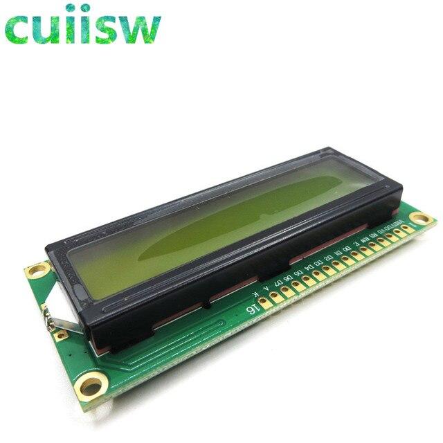 10 ADET LCD1602 1602 modülü Yeşil ekran 16x2 Karakter lcd ekran Modülü Denetleyici mavi blacklight