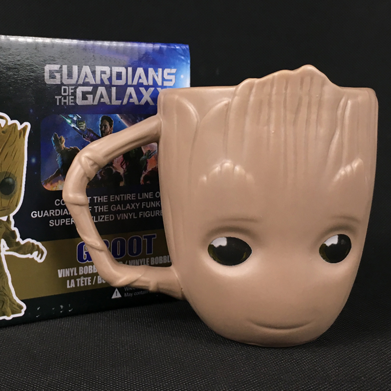 Groot Goblet Home Ceramics Coffee Mug Cup Cosplay Guardians of the Galaxy Groot Tree Man Creative Cartoon Milk Tea Cups Gifts