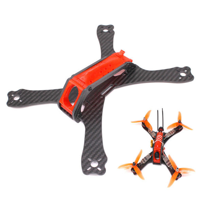 PUDA C240 240mm 3.5mm Arm 3K Carbon Fiber Stretch-X Racing Frame Kit with 3D Printing Camera Mount for RC Drone Quadcopter