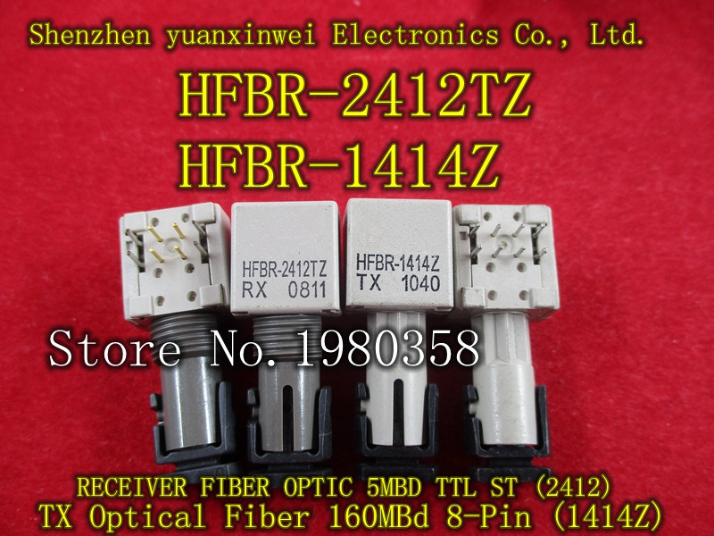 HFBR-2412TZ 1PCS+ HFBR-1414Z 1PCS HFBR-2412 HFBR-1414 new original print head printhead compatible for epson tm u210 210pa 210pd 210b 210d printer head