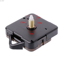 Quartz Clock Movement Mechanism Hands Wall Repair Tool Parts Silent Kit Set DIY White Pointer 25#
