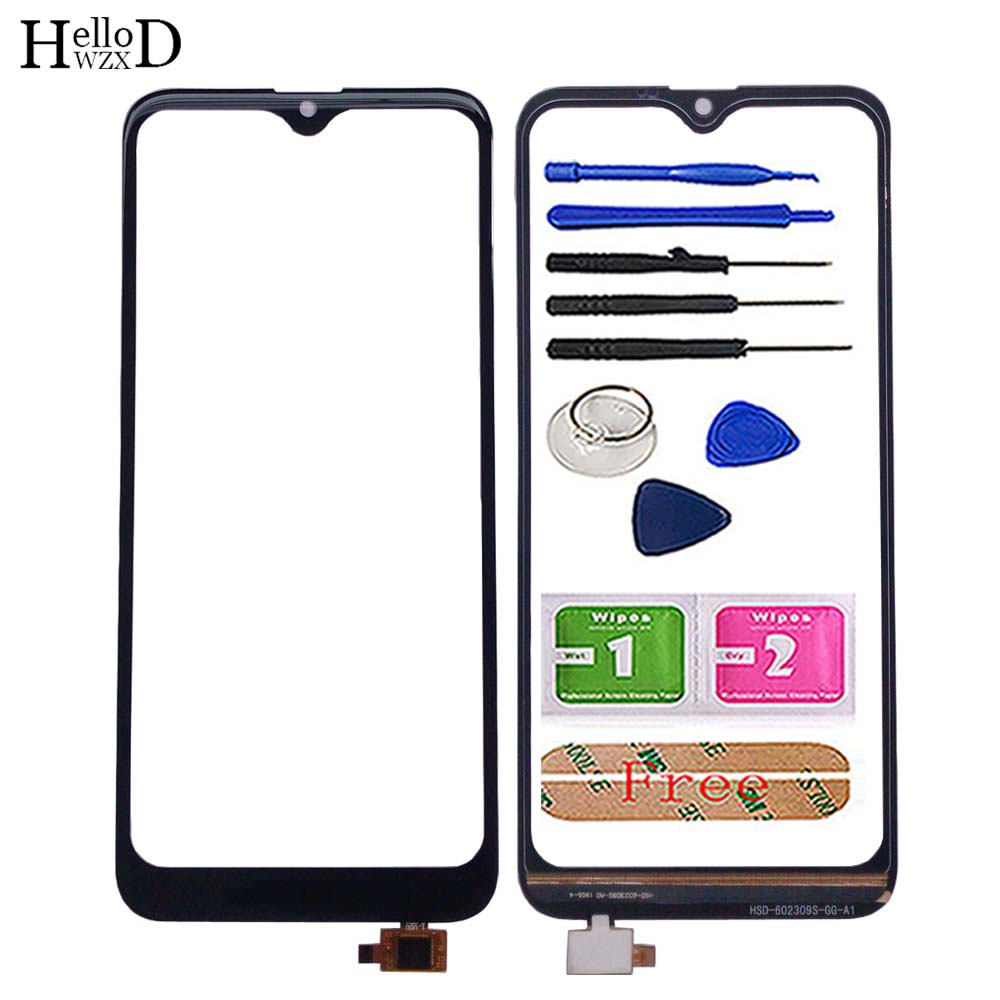 Mobile Touch Screen Glass For Doogee Y8 Digitizer Front Glass Replacement For Doogee Y8 Touch Screen Sensor Tools 3M Glue