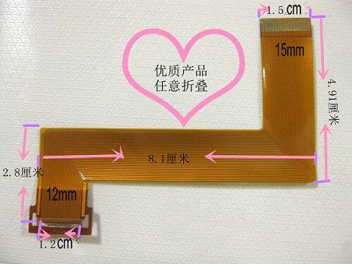 """Жк-flex кабель 9.7 """" окно YUANDAO N90 II 2 планшет сенсорный дисплей жк-разъем жк-flex ленты кабель бесплатная доставка"""