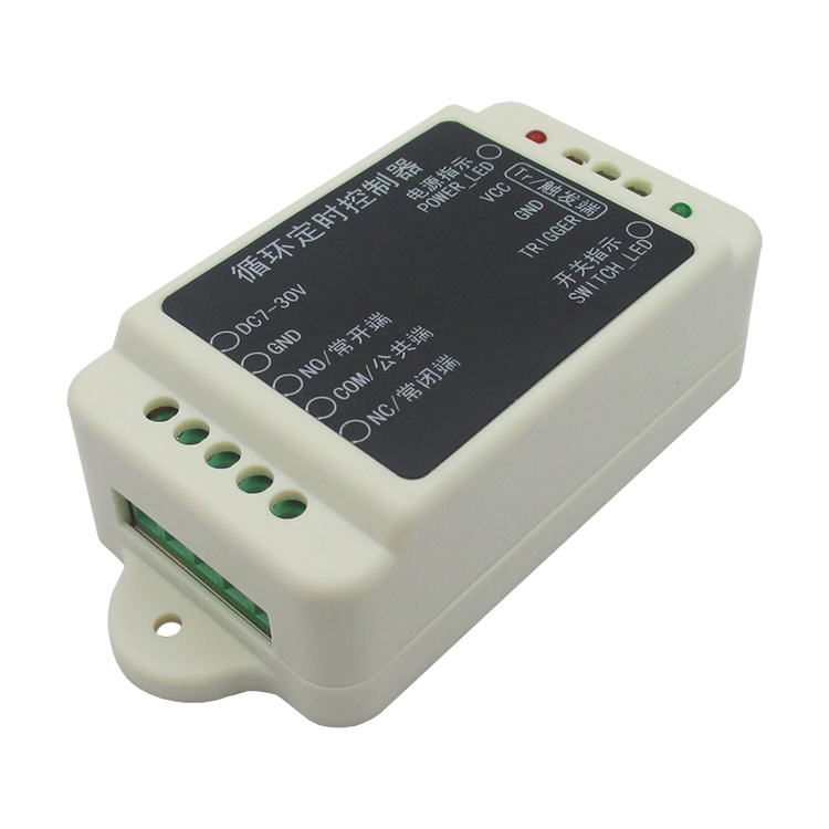 Cycle timer controller DC6-30V delay time adjustable cycle timing switch relay module 10A 1pc timer delay relay delay turn on delay turn off switch module with timer dc 12v