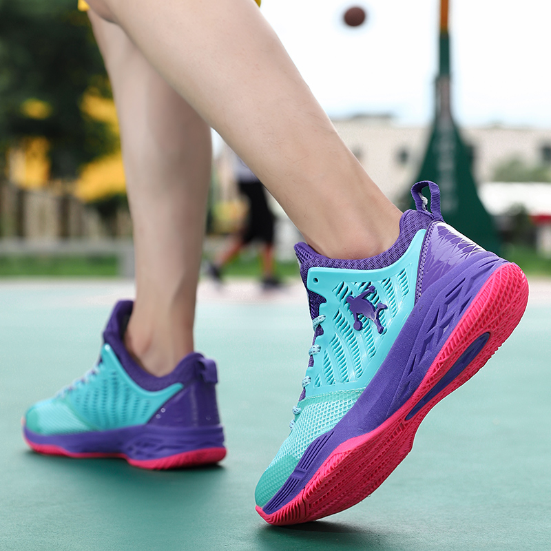 Shoes Basketball Men Black Red Brand Men Basketball Shoes High Top Athletic Sneakers Male Basketball Shoes Sneakers in Basketball Shoes from Sports Entertainment