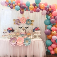 100pcs/lot 2.2g colorful Pearl Latex Balloon Macaron color Inflatable Wedding Decorations Air Ball Happy Birthday Party Supplies