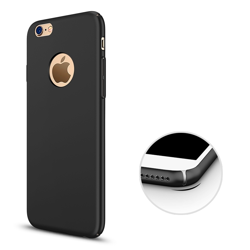 buy popular f4be1 3545d US $2.39 5% OFF|Case For iphone 7 plus iphone7 Black Luxury Thin Back Hard  Armor Gold Case for iphone 6s 6 S iphone 5s 5 S se Cover Accessories-in ...