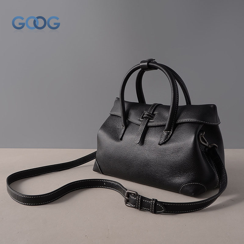 Women 's clothing Europe and the United States fashion commuter first layer of leather shoulder bag cross - style square lychee polo women golf club clothing bag handbag nylon first layer of leather