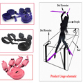 fun Bed Restraints sex bondage Restraints toy kit, fixed Handcuffs  Adult games erotic sex toy,sex products for couples