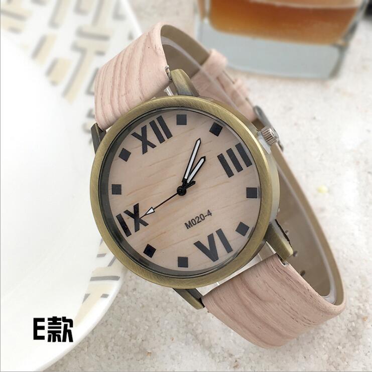 Symulacja Drewniane zegarki kwarcowe Reloje Męskie Zegarki na co - Męskie zegarki - Zdjęcie 4