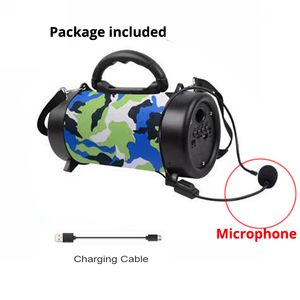 Image 2 - Hifi Bluetooth רמקול אלחוטי טור MP3 מוסיקה אודיו USB FM רדיו רמקול סטריאו תיבת קול חיצוני רמקול עבור xiaomi + מיקרופון