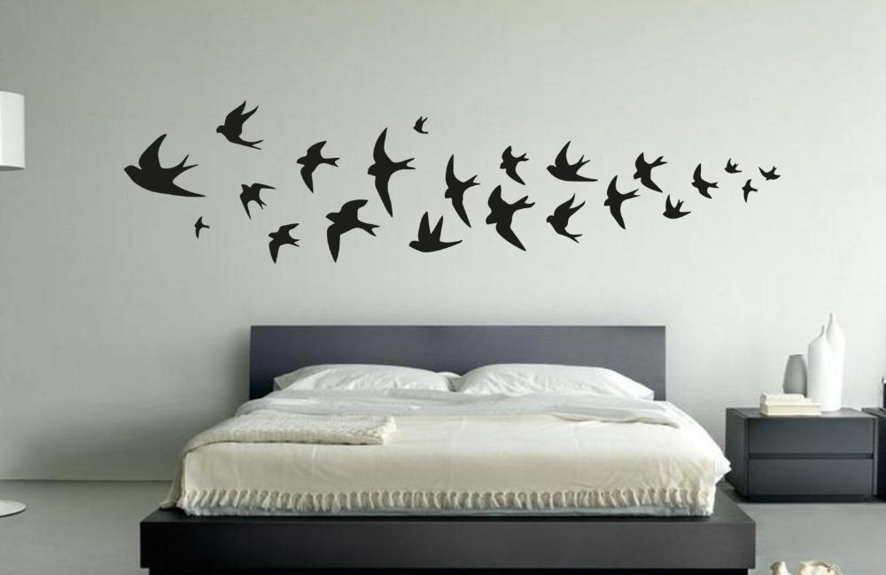 online get cheap vogel silhouette wandtattoos aliexpress