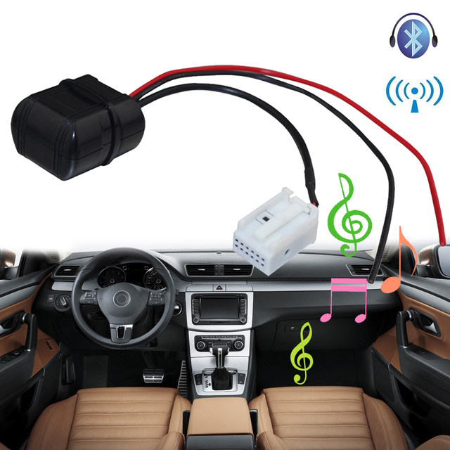 Lonleap Car Bluetooth Module for Citroen Peugeot RD4 Radio Stereo Cable Aux  Adapter with Filter Wireless Audio Input-in Cables, Adapters & Sockets