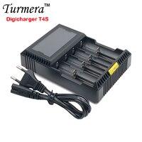 18650 バッテリー充電器 Turmera 18650 バッテリー充電器液晶 T2S/T4S 26650 21700 18500 18350 14500 ニッケル水素を NI-CD 単三電池 ju28
