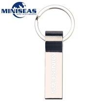 2016 Miniseas Usb Flash Drive Metal Key Ring High Speed 4GB 8GB 16GB 32GB 64GB Pen Drive Memory Usb Stick Pendrive Flash Drive