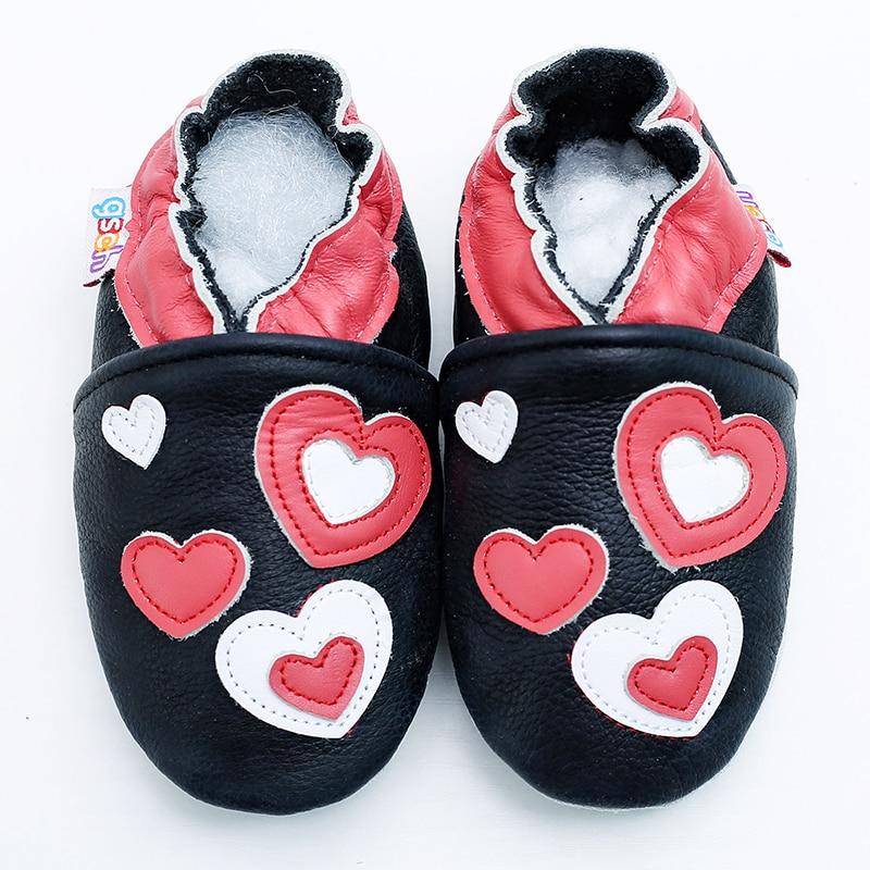 Comprar Zapatos de bebé niño niña primeros caminantes recién nacido Sloffen  zapatos suela suave cuero mocasines Infante Bebek Ayakkabi zapatillas niños  ... 5fb516470310