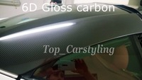 6D 광택 탄소 섬유 비닐 자동차 랩 6d 탄소 반짝 마무리 공기 무료 거품 PROTWRAPS 비닐 1.52x20 메터/롤 5x67ft