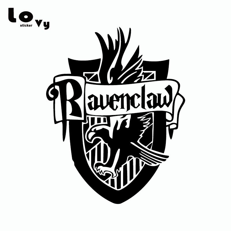 Hp Ravenclaw House Raven Shield Vinyl Sticker Laptop Decal
