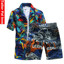 Mens Board Shorts & Shirt Summer Beach Shorts Bermuda Swimming Surf Boardshorts Quick Dry Swimwear Sport Suit zwembroek heren()