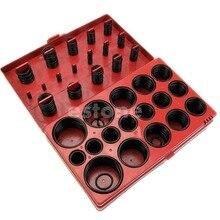 419pcs Assorted O Ring Rubber Seal Assortment Set Kit Garage Plumbing Wholesale kit 419pcs o ring o ring black rubber 32 sizes with case 3 50mm