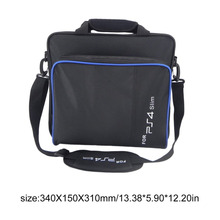 2019 black bag for Sony PlayStation4 ps4 Game Storage bags High capacity nylon Portable bolsa de viagem dropshipping