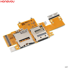 For Sony Xperia Tablet Z SGP311 SGP312 SGP321 SIM Card Reader Holder Tray Slot Flex Cable все цены